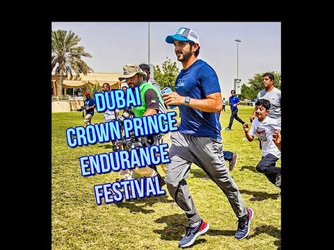 Sheikh Hamdan (فزاع Fazza) attended the Dubai Crown Prince Endurance Festival