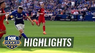 Schalke 04 vs. Eintracht Frankfurt | Bundesliga Highlights | FOX SOCCER