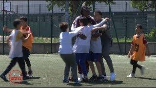 Un mercredi pas comme les autres pour les enfants de Sports dans la Ville | Olympique Lyonnais