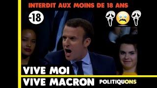 Macron hurle, En marche crie ! [Meeting du 10 décembre]