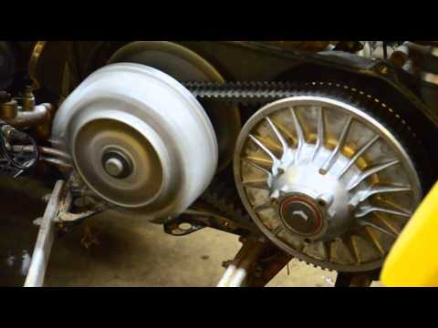 How Do Canam Clutches Work?