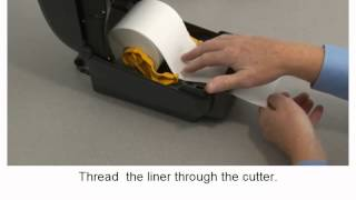 Zebra ZD500 Series: How-to Use the Cutter