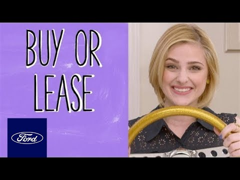 Auto Finance Basics: Buy Or Lease? | Auto Finance 101 | Ford