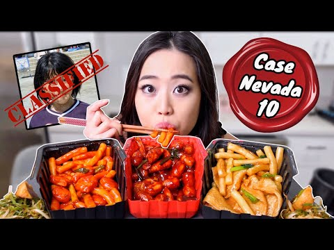 SPICY RICE CAKES 떡뽁이 (Black Bean + Cheese + Nuclear Flavors) MUKBANG | Eating Show