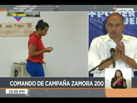 Héctor Rodríguez: El martes habrá cierre de campaña en los estados y el jueves será el nacional