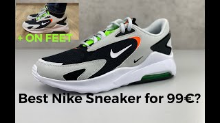 BEST NIKE SNEAKER FOR 99€ ? | Nike Air Max Bolt | UNBOXING & ON FEET | fashion sneaker | 2021