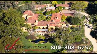 Rancho Santa Fe Luxury Home for Sale, Spanish Style Estate Rancho Santa Fe