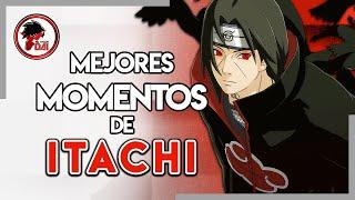 Naruto: Los MEJORES MOMENTOS de ITACHI UCHIHA