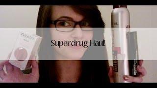 Superdrug Haul! Thumbnail