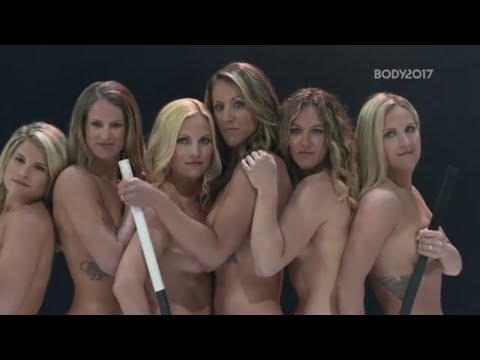 U.S. Women's National Hockey Team Won't Be Underestimated In The 2017 Body Issue   ESPN