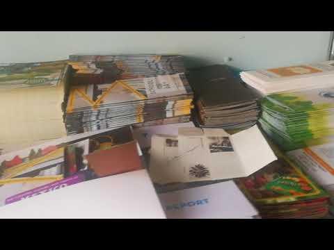 INSIDE an ECO-FRIENDLY PRINT SHOP: California Green Press: Paper Materials