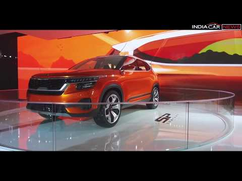 Kia SP SUV Concept First Look Review in Hindi - Auto Expo 2018