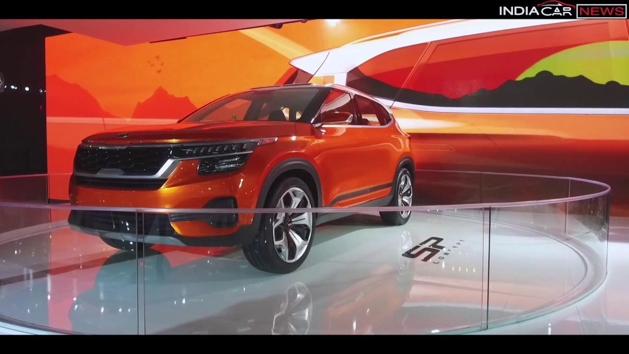 Kia Sp Trazor Suv Concept First Look Auto Expo 2018 Youtube