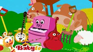 Orkiestra grają na banjo- BabyTV Polski