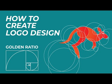 How to Create Logo Design with Golden Ratio #3   Adobe illustrator Tutorial thumbnail