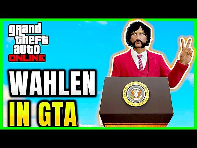 Wer wird der nächste Präsiden in GTA Online? - GTA 5 Online Deutsch