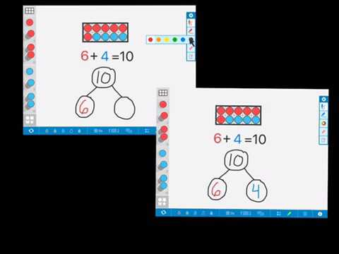 Using Number Frames App in Primary Grades - YouTube