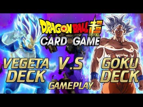 Ultimate Battle! Master Ultra Instinct Goku V.S Blue Evolution Vegeta ( DBS TCG)