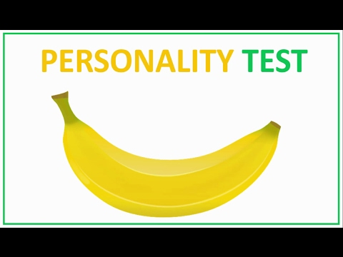 One minute personality test  Very funny test for you!