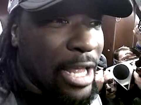 Patriots running back LeGarrette Blount after AFC win over Colts