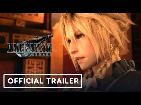 Final Fantasy 7 Remake - Official Trailer