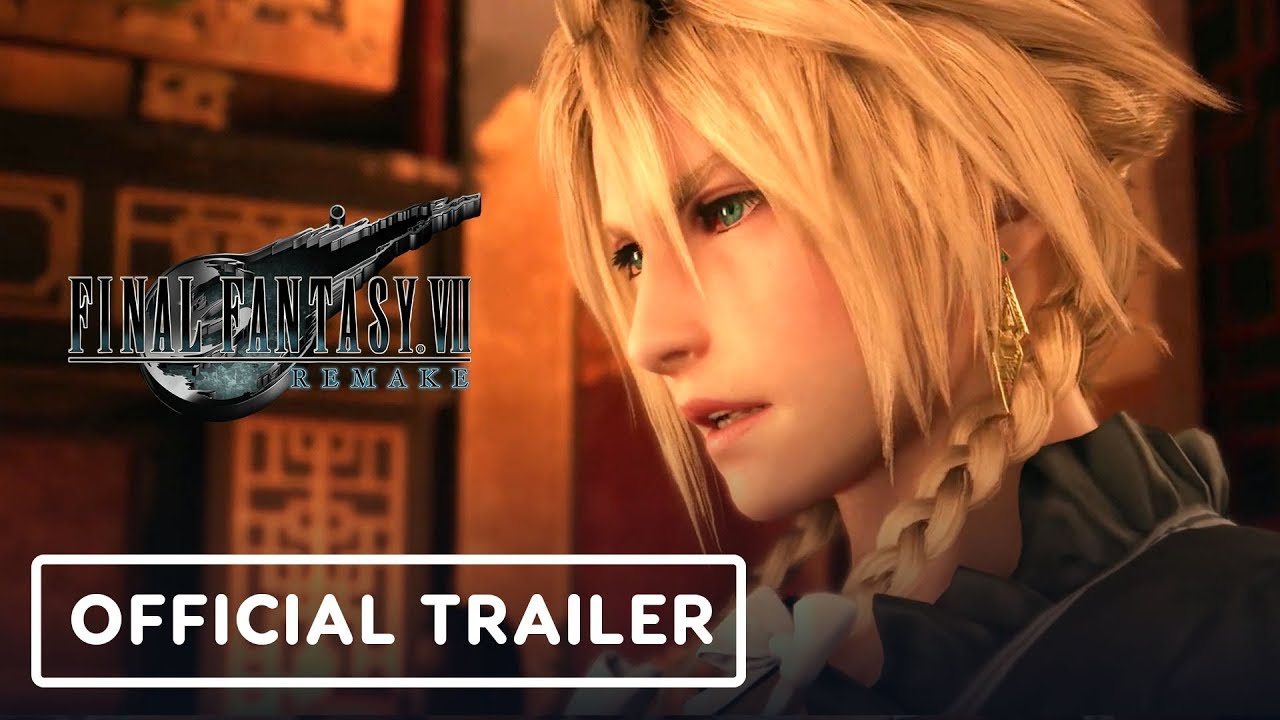 Final Fantasy 7 Remake - Official Trailer