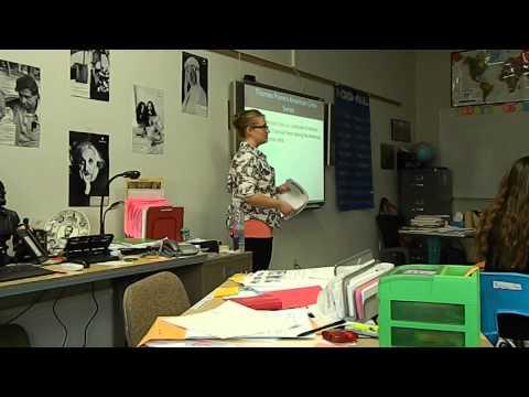 Melissa Oaks TEACHING Social Studies 8th Grade