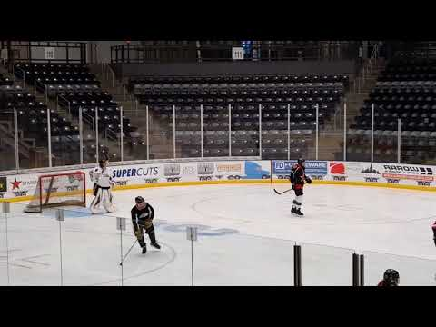 Hockey in Ralston arena