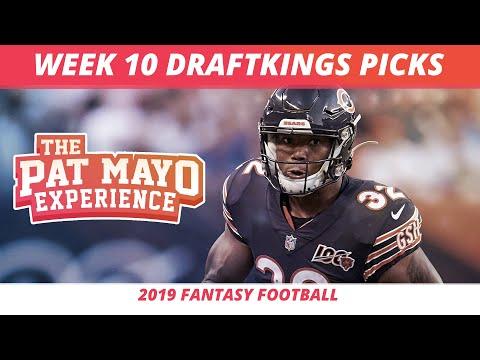 2019 Fantasy Football Rankings — NFL Week 10 DraftKings Picks, Predictions, Preview, Sleepers