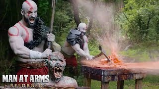 Everything destroyed by TOP 5 Strongest AXE - MAN AT ARMS: REFORGED