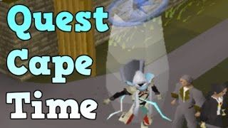 Osrs Getting The Quest Cape Youtube So, i developed this osrs quest guide tracker and it helped me achieve quest cape in 30 days as an ironman. youtube