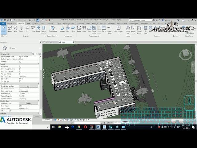 Curso básico de Revit | 12 Rangos de Vista y visibilidad de gráficos por filtros de Fases