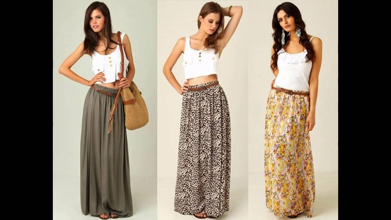 e58c34045 Tendencias de Moda Cómo combinar una falda larga