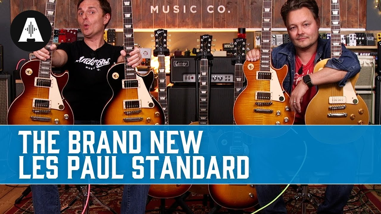 New Gibson Les Paul Standard 50s And 60s The Best Gibson Range Yet Youtube