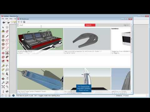 Sketchup How To Add Furniture