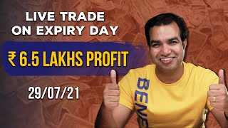 How I Made Profit of ₹ 6.5 lakhs in Bank Nifty Options Buying   Live Commentary   Scalper Pros