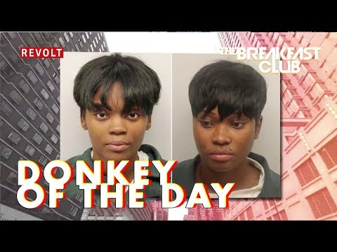 Ebony Cooper & Leah Pressley | Donkey Of The Day
