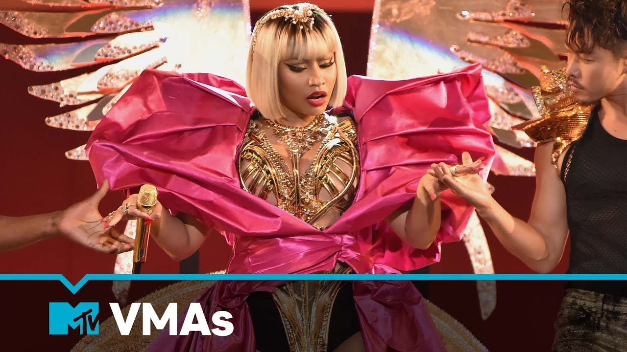 "Download Nicki Minaj Performs ""Majesty,"" ""Barbie Dreams,"" ""Ganja Burn,"" ""FeFe""   MTV VMAs   Live Performance"
