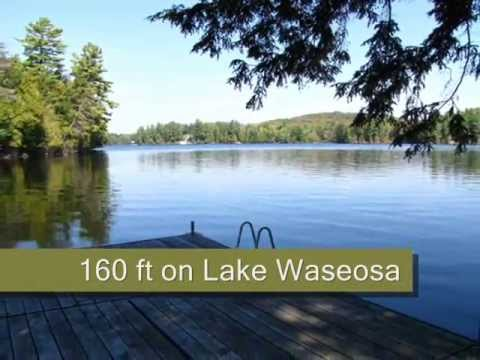 Sold Waterfront Cottage For Sale Lake Waseosa