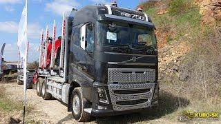 Volvo FH 16 750 Euro 6 - timber truck walkaround