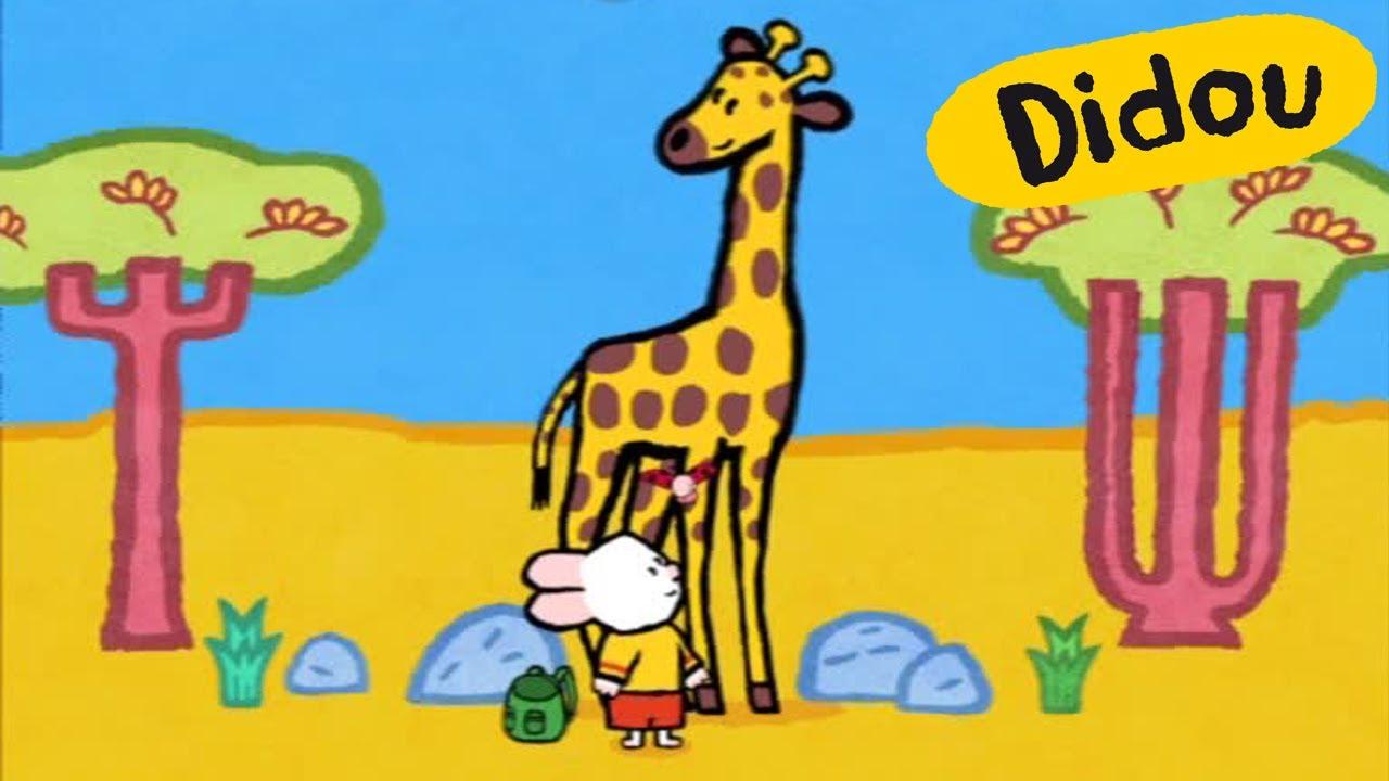 Girafe Didou Dessine Moi Une Girafe Dessins Animés Pour Les Enfants