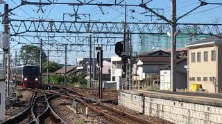 [併結試運転‼️]名鉄3150系 3167f+名鉄9500系 9501f(試運転本宿行き)豊明駅 入線‼️