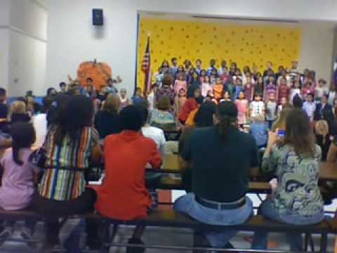 Duck Dance Song - Native American (Danielle Solan's 08-09 BTE 2nd Grade Concert).mov