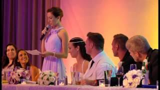 Maid of Honor Speech, Kristofer & Lauren