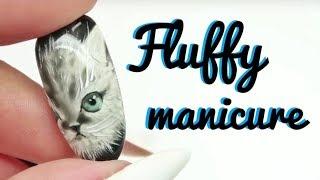 💅💅 Fluffy Nails 💅💅 :: Tiny Kitten :: Nailart by Natalia