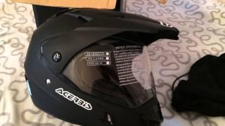 Обзор мото шлема ACERBIS Active Black(Обзор на новый шлем ACERBIS Active Black., 2015-01-27T09:15:28.000Z)