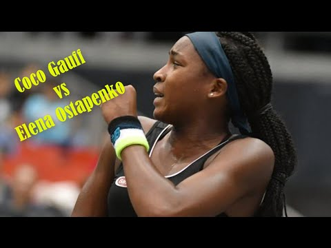 Gauff vs Ostapenko highlights WTA Linz 2019