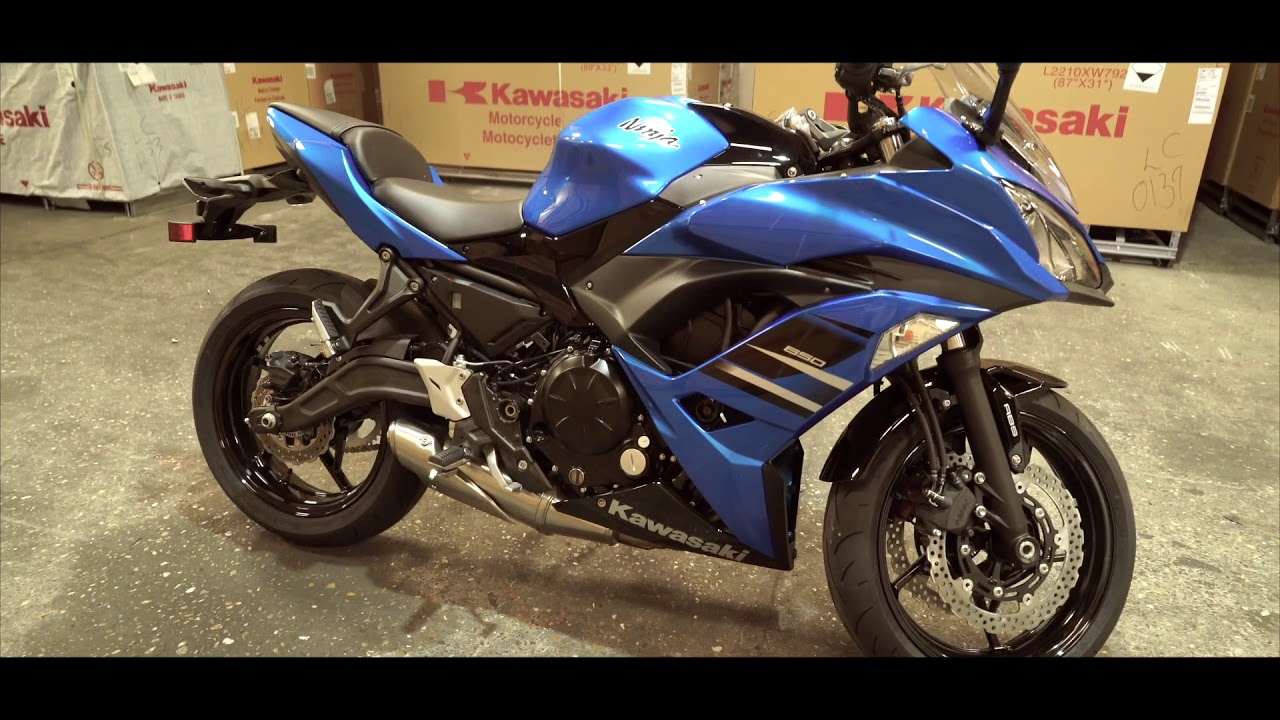 Colchester Kawasaki Kawasaki Ninja 650 Uncrating Youtube