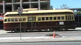 TTC PCC Streetcar Westbound on Fleet St