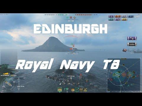 Royal Navy T8: Edinburgh [170k damage]